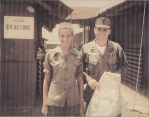 Tommy and Barbara Chiminello in Nha Trang, South Vietnam